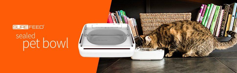 shop award-winning surefeed sealed pet bowl pettech.co.uk ltd