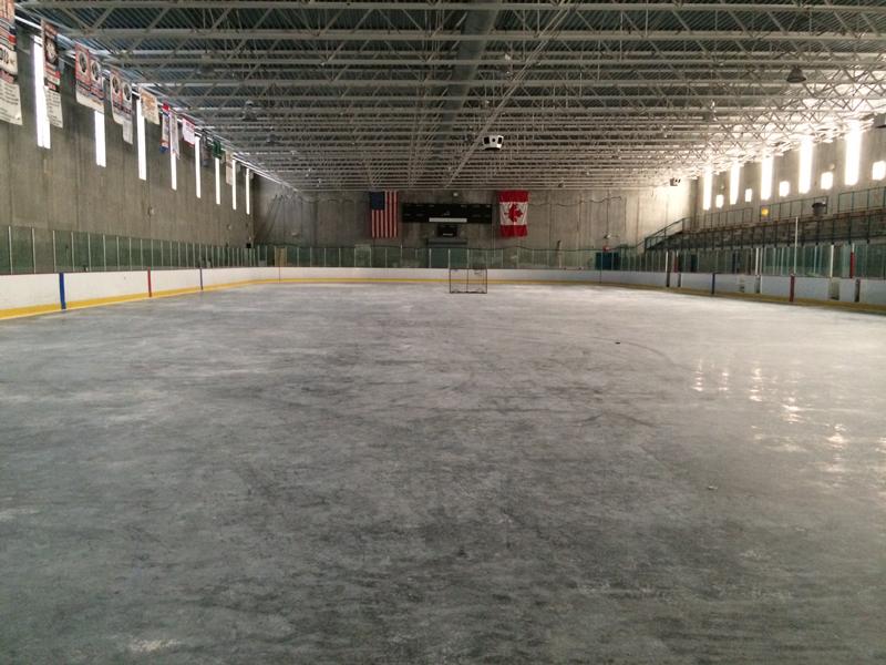 Grundy Arena Ice Rink