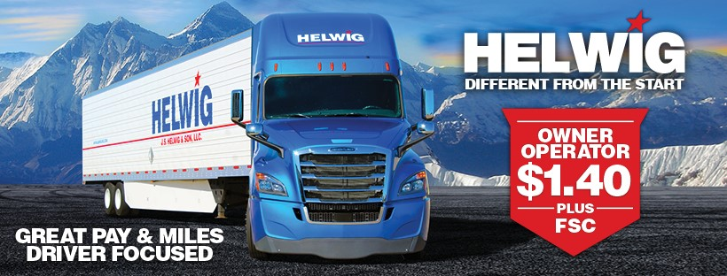 Owner Operator Pay | Owner Operator Jobs | JS Helwig & Son