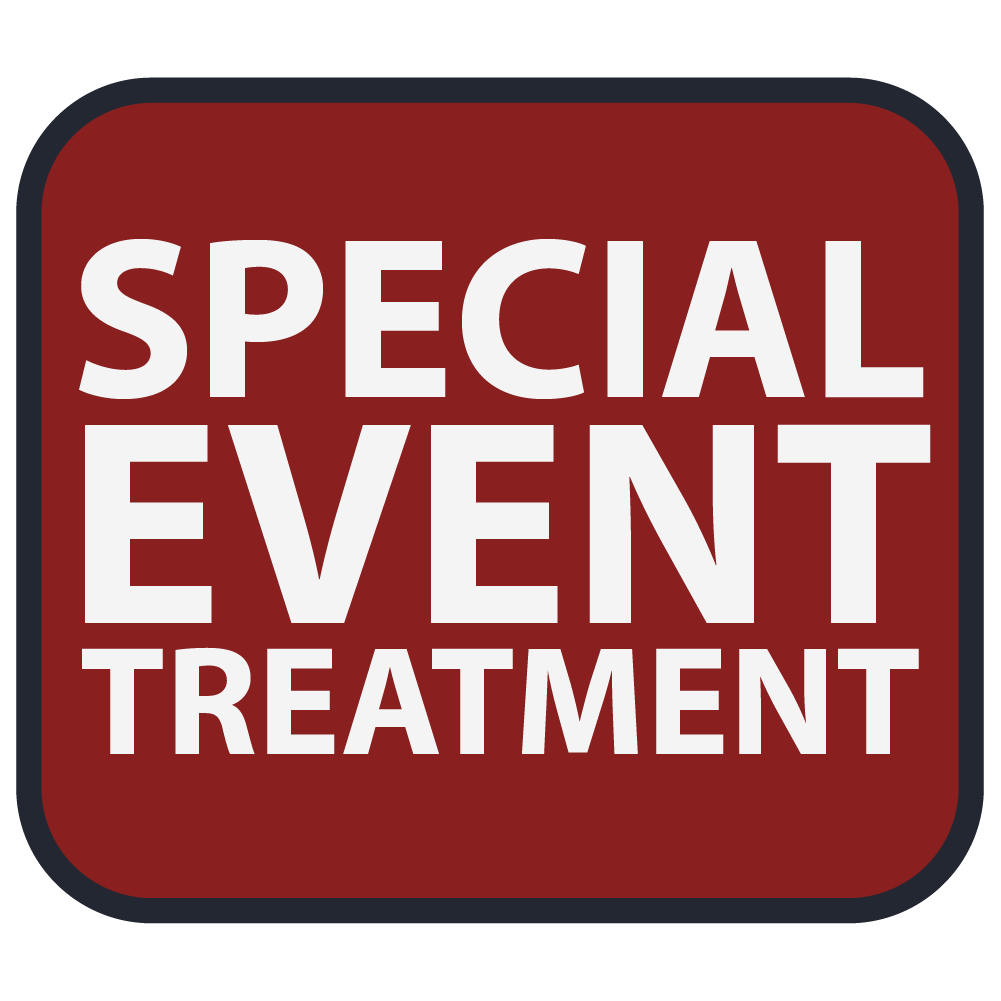 Special Event Treatment