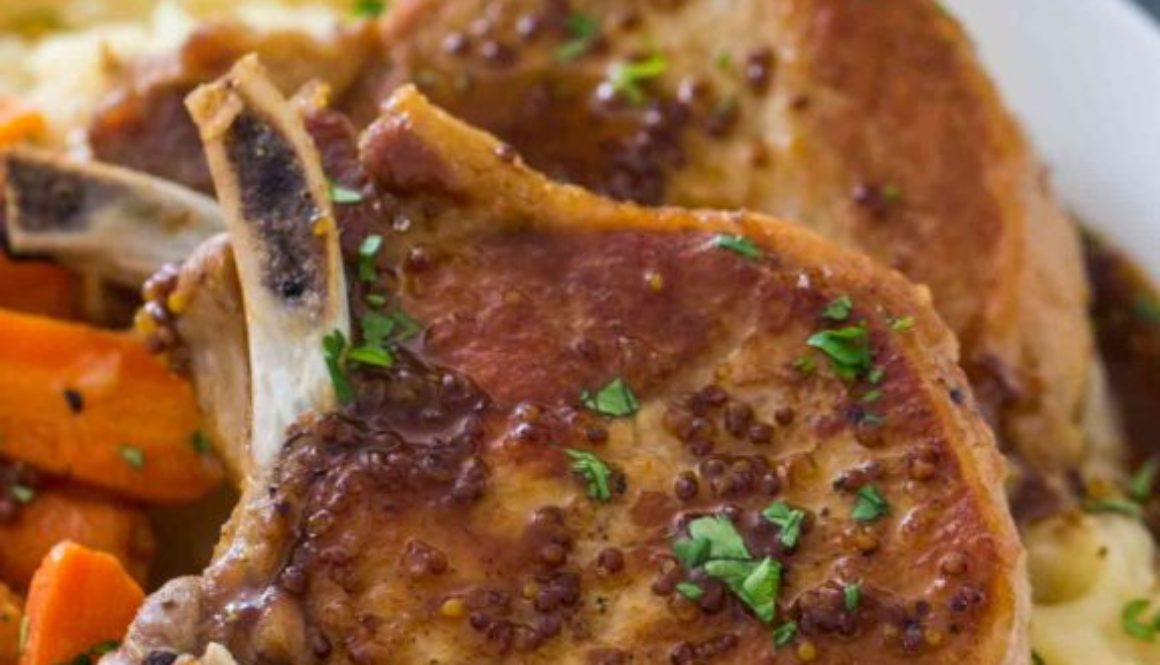 instant pot pork chops