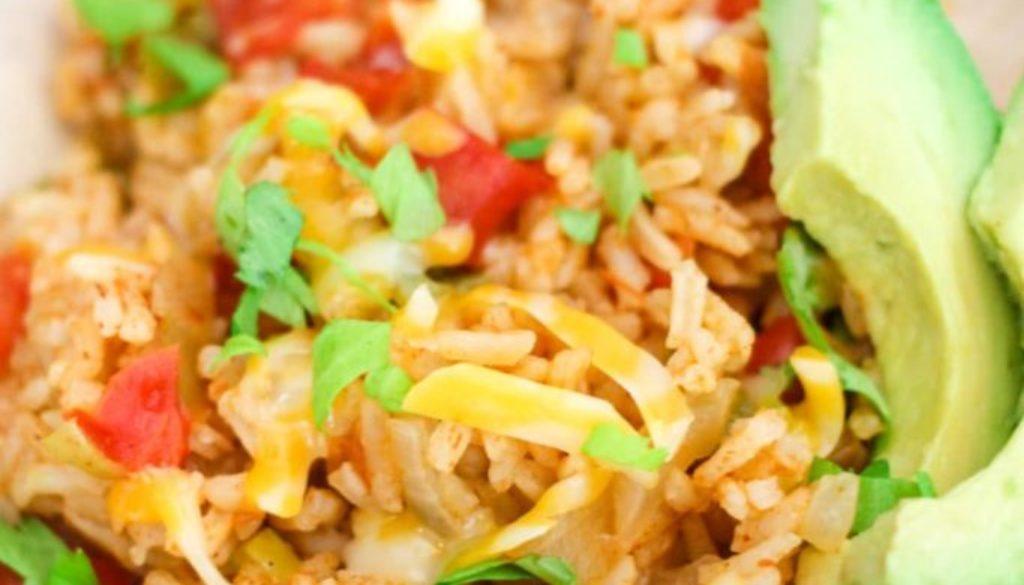 instant pot salsa rice
