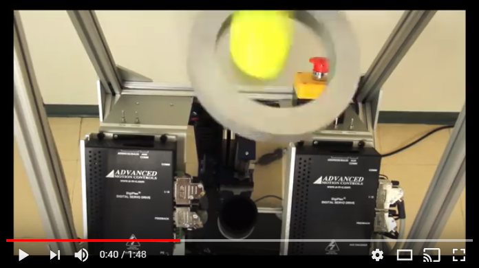 Golf Ball Tossing Tricks with Servo Drive Motion Controls