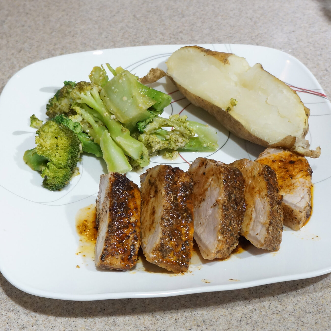 Pork Tenderloin with Orange