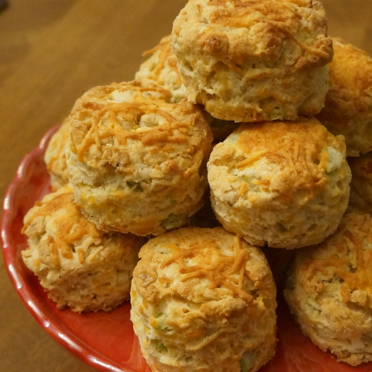 Cheese, Celery and Walnut Scones with Parsley Butter