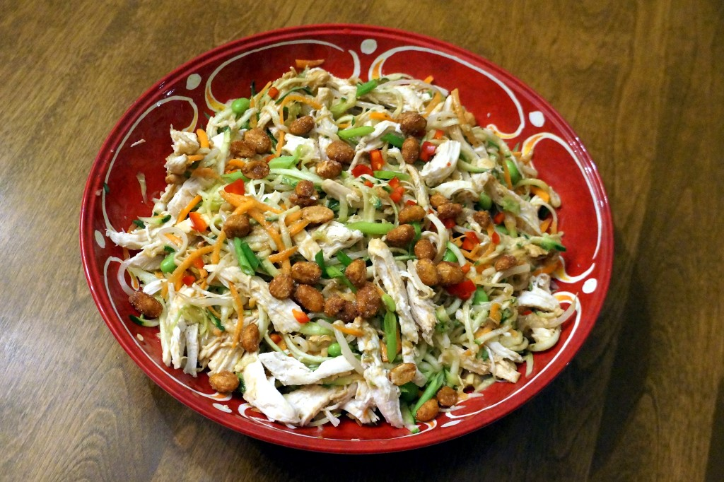 Bang Bang Chicken with Vegetable Noodles