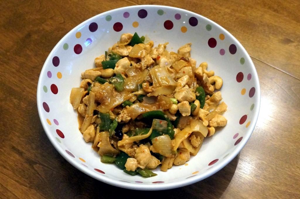 Chicken Cashew Szechuan