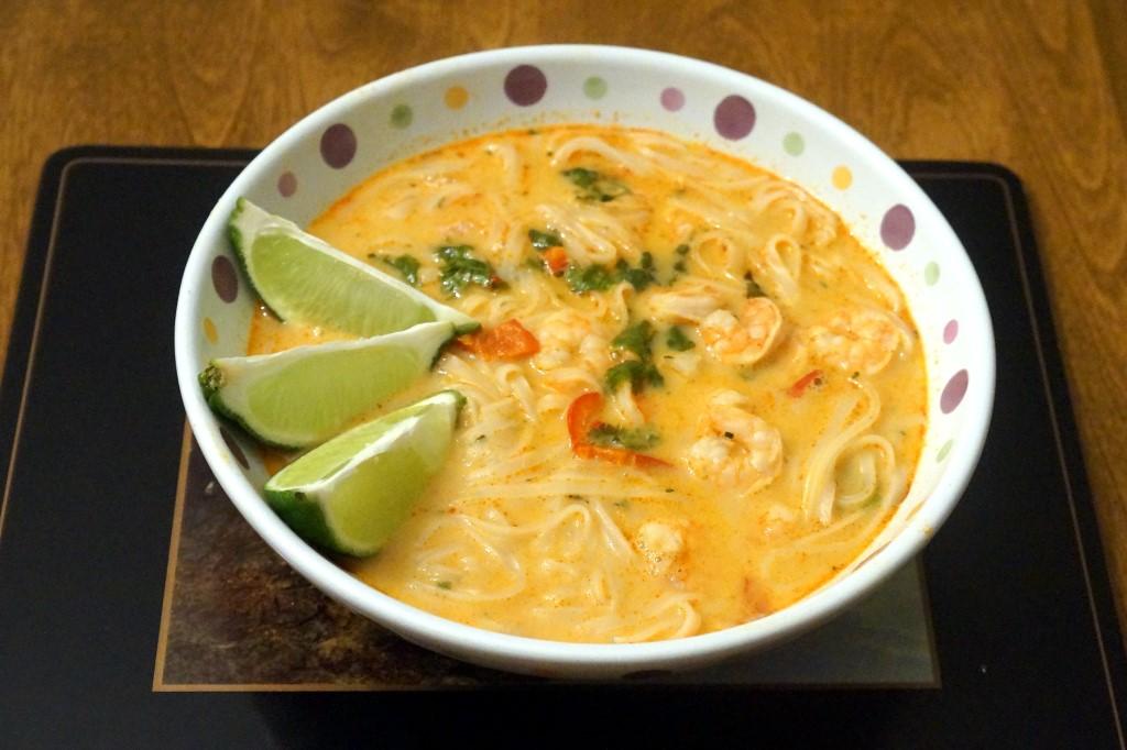 Shrimp Laksa Curry Bowl