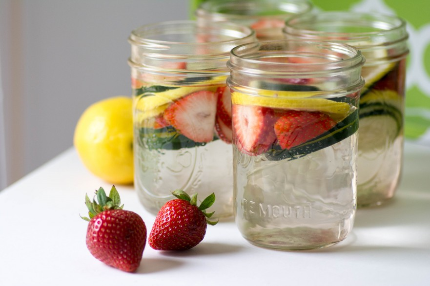 Summer Camp Fruit Infused Water Food Service