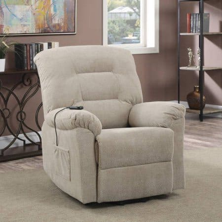 power lift chair taupe
