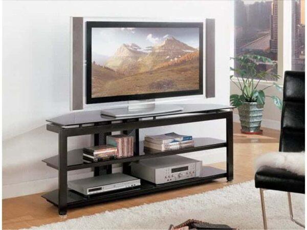 black entertainment console