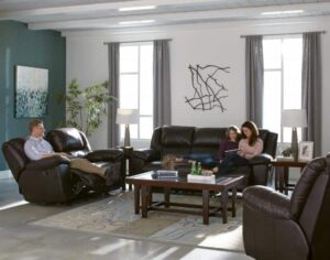 Transformer II Chocolate Reclining Sofa Set