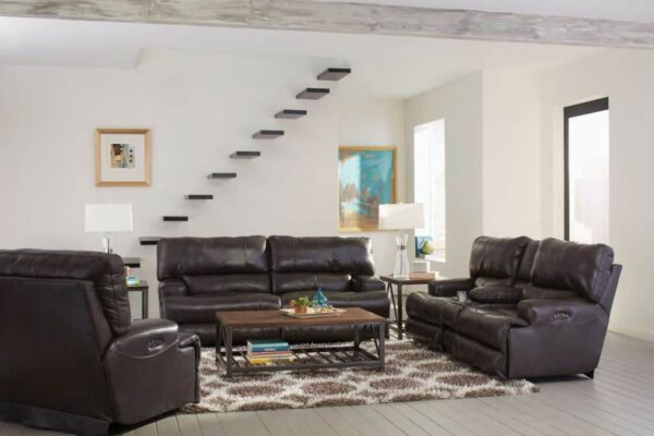 Wembly Lay-Flat Reclining Sofa Set