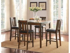 delmar dining set burnished rustic classic