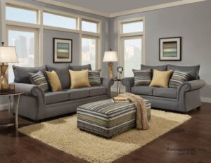 Jitterbug Sofa Set transitional gray