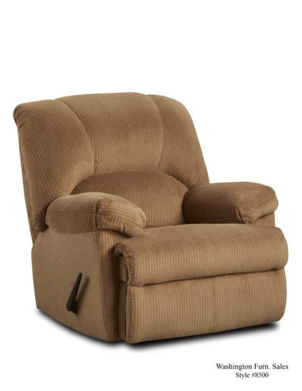 Washington Furniture 8500 Recliner camel