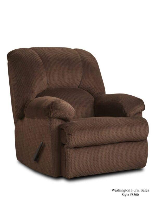 Washington Furniture 8500 Recliner chocolate