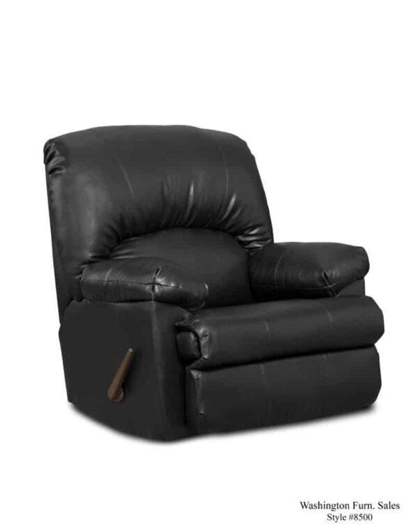 Washington Furniture 8500 Recliner ty black