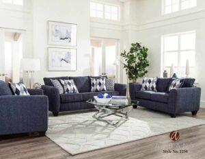 Endurance Denim Sofa Set