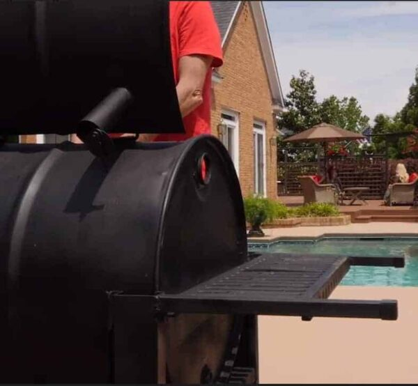 barrel grill, grilling, locally made