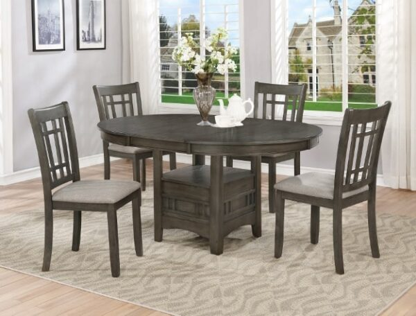 hartwell dining set grey pub height