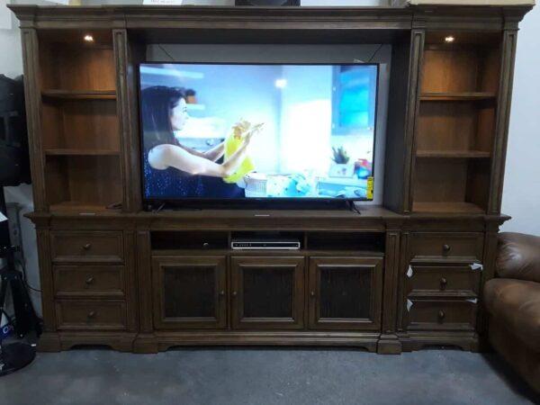 marrakeh tv console Moroccan wood