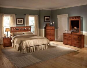 orchard park full queen bedroom set traditional