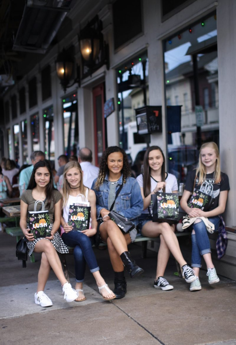 Girl's day in New Orleans