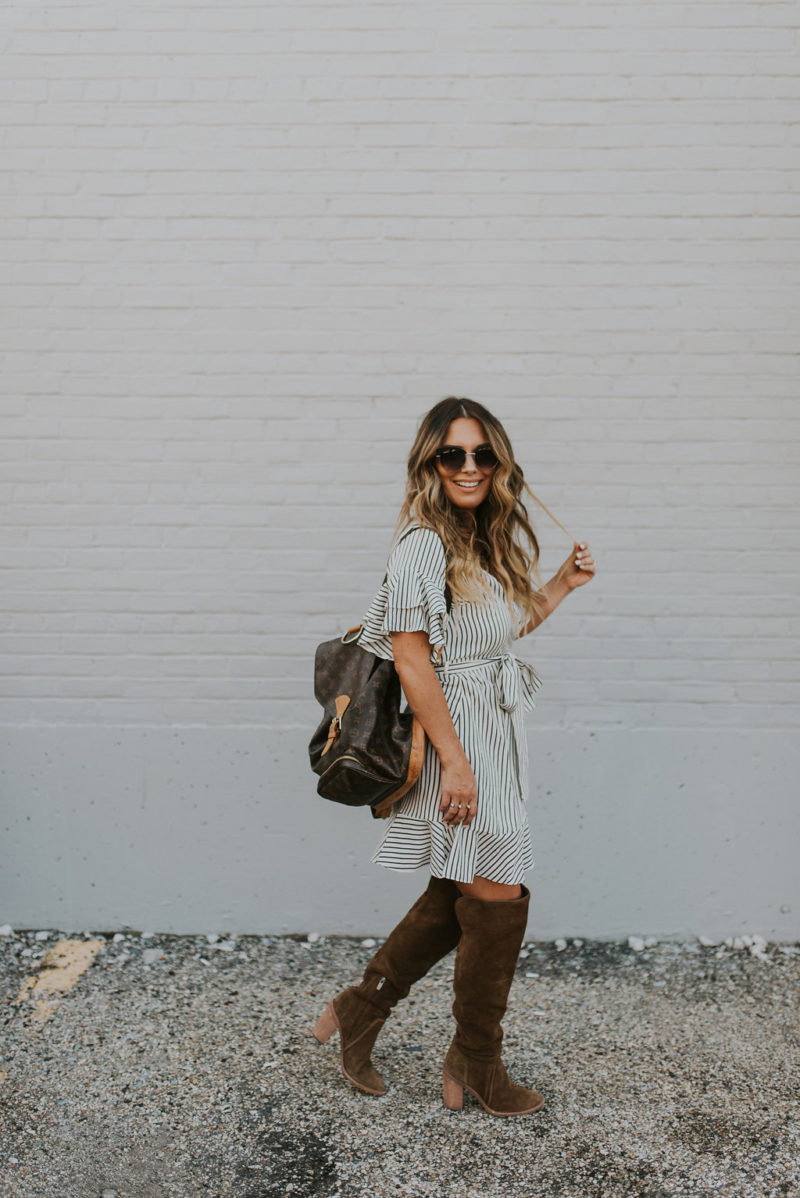 HOW TO WORK RUFFLES INTO YOUR OOTD FOR UNDER $40. READ MORE ON MY BLOG.