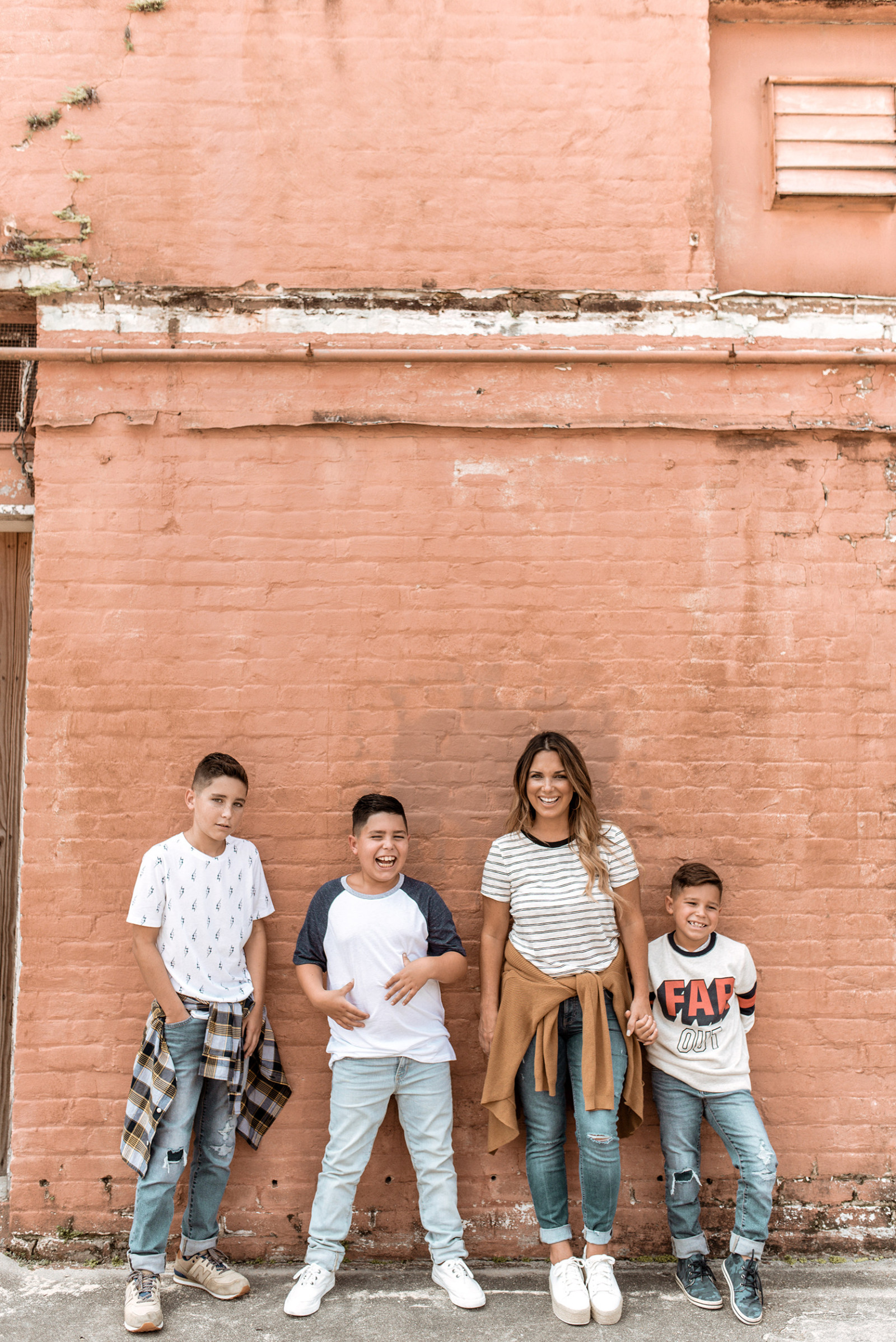 Old Navy never lets me down when it comes to dressing my family from head to toe. We added some fall items to our closets, and jeans were first on the list.