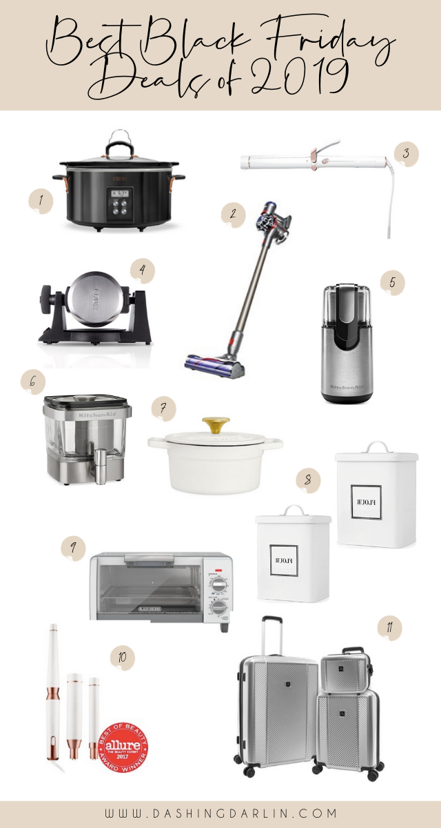 BLACK FRIDAY SALES ROUND UP IS ON THE BLOG. SHARING GIFT IDEAS AND SO MUCH MORE. APPLIANCES, HAIR TOOLS AND KITCHEN ITEMS ARE ALL 40%-60% OFF. ALL OF THE HOTTEST DEALS AND MORE.