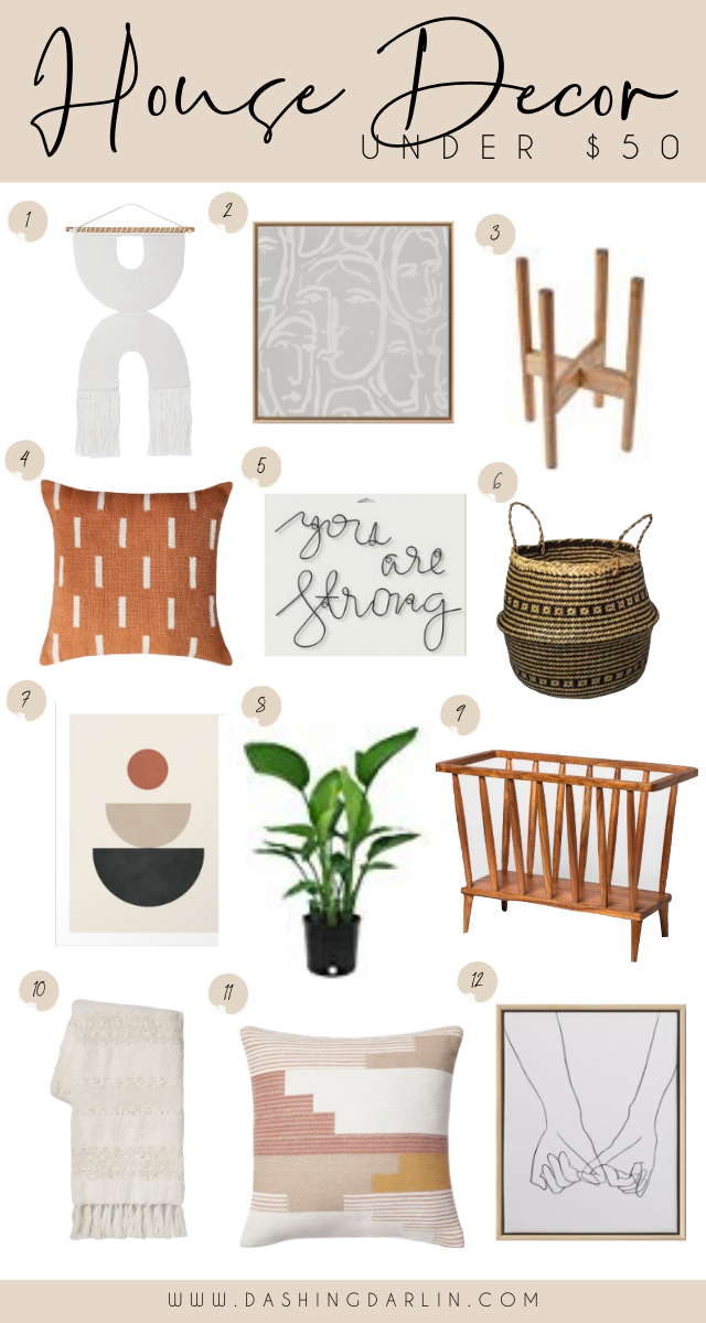FAVORITE HOUSE DECOR FINDS UNDER $50 - AFFORDABLE SPRING DECOR FROM TARGET AND AMAZON