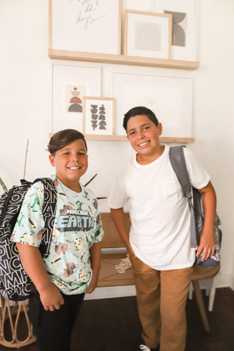 Shopping all online at Walmart is perfect for the upcoming school year. They have such a great variety of school supplies, uniforms, tennis shoes, backpacks, and more. Find a list of our favorite school finds on the blog.