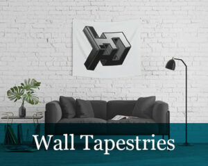 Digital Art-Wall Tapestries