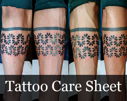 Tattoo Care Sheet