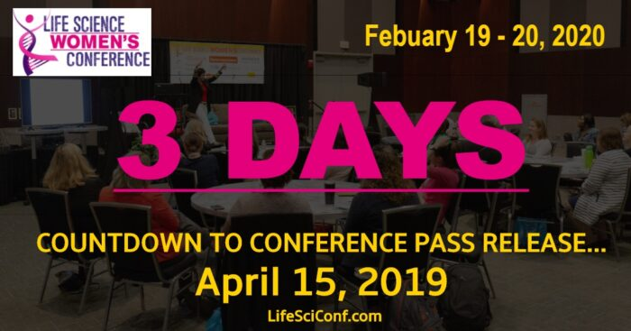 3 DAY UNTIL CONFERENCE PASS ARE ON SALE!