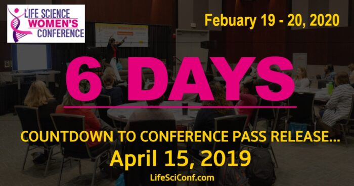 Count-down to conference pass release: 6 Days