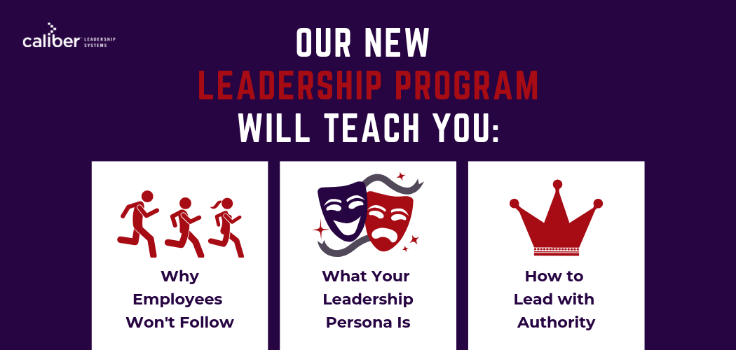 Leading With Authority Program, leadership development, online program