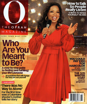 Oprah Magazine - Who Are You Meant To Be