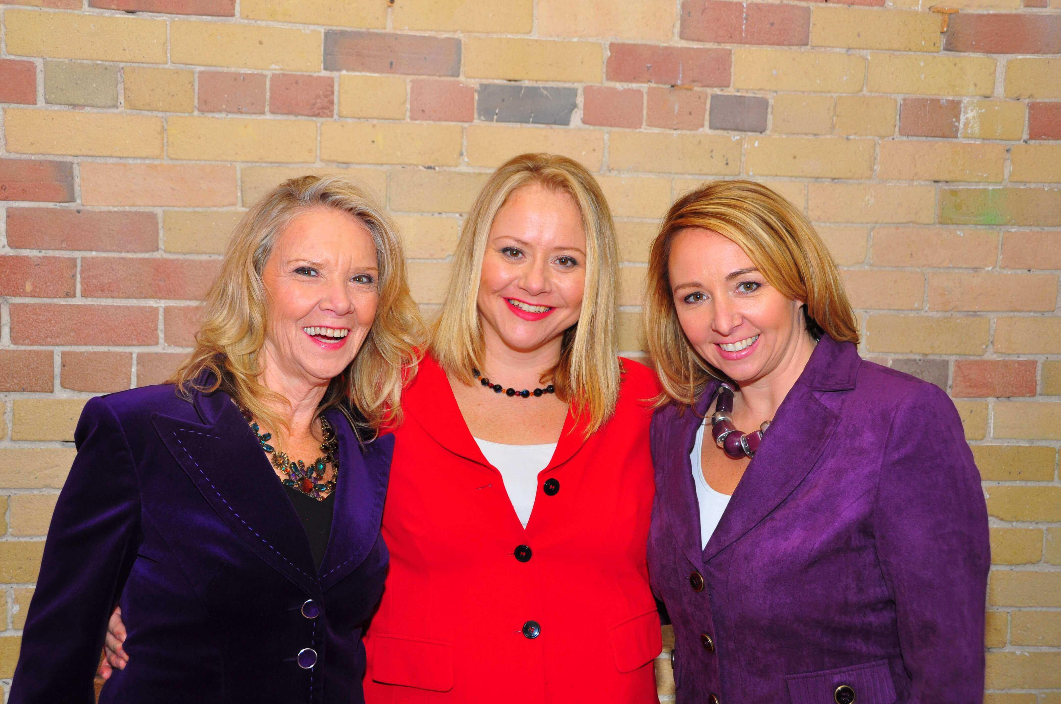 Anne Dranitsaris, Nancy Dranitsaris and Heather Hilliard