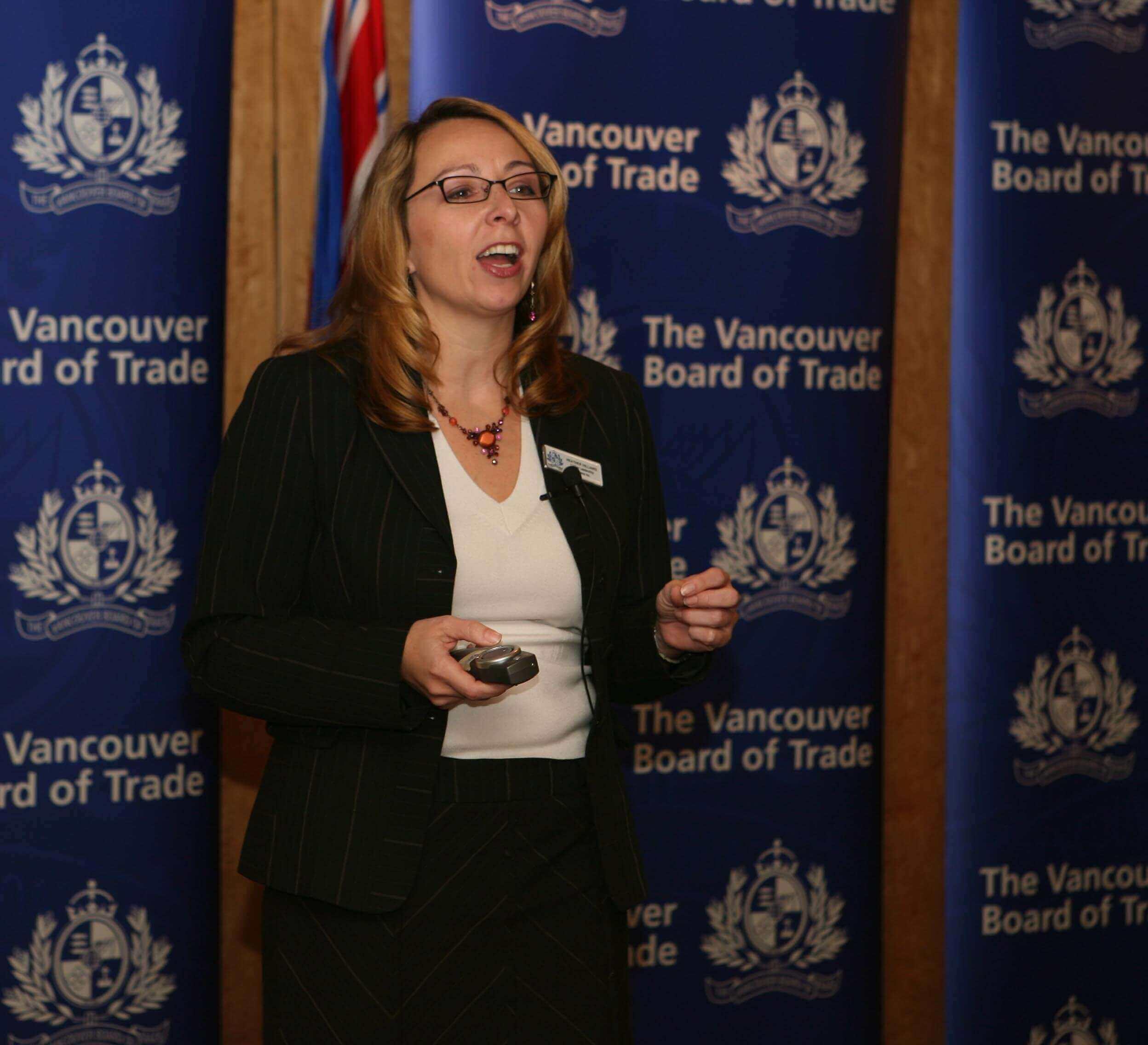 Vancouver Board of Trade - Heather Hilliard