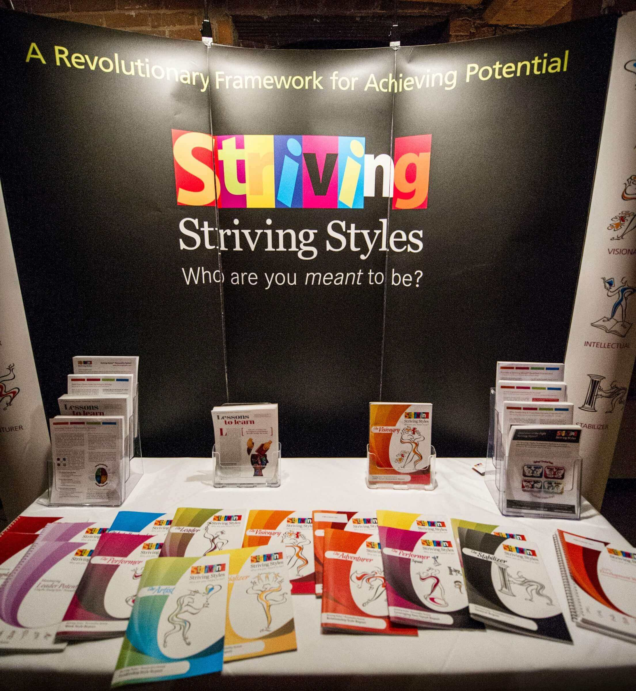 Striving Styles personality Systems booth