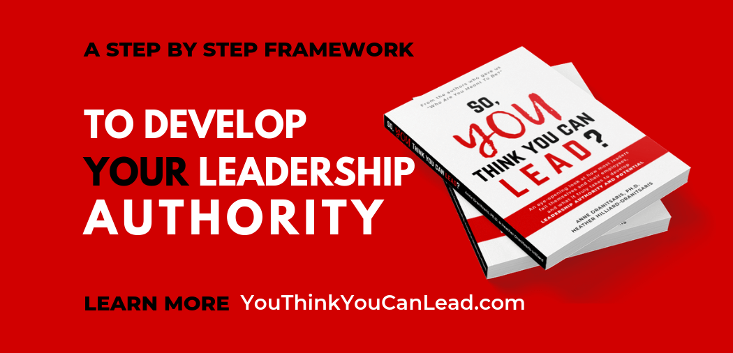 leadership development, So You Think You Can Lead Book