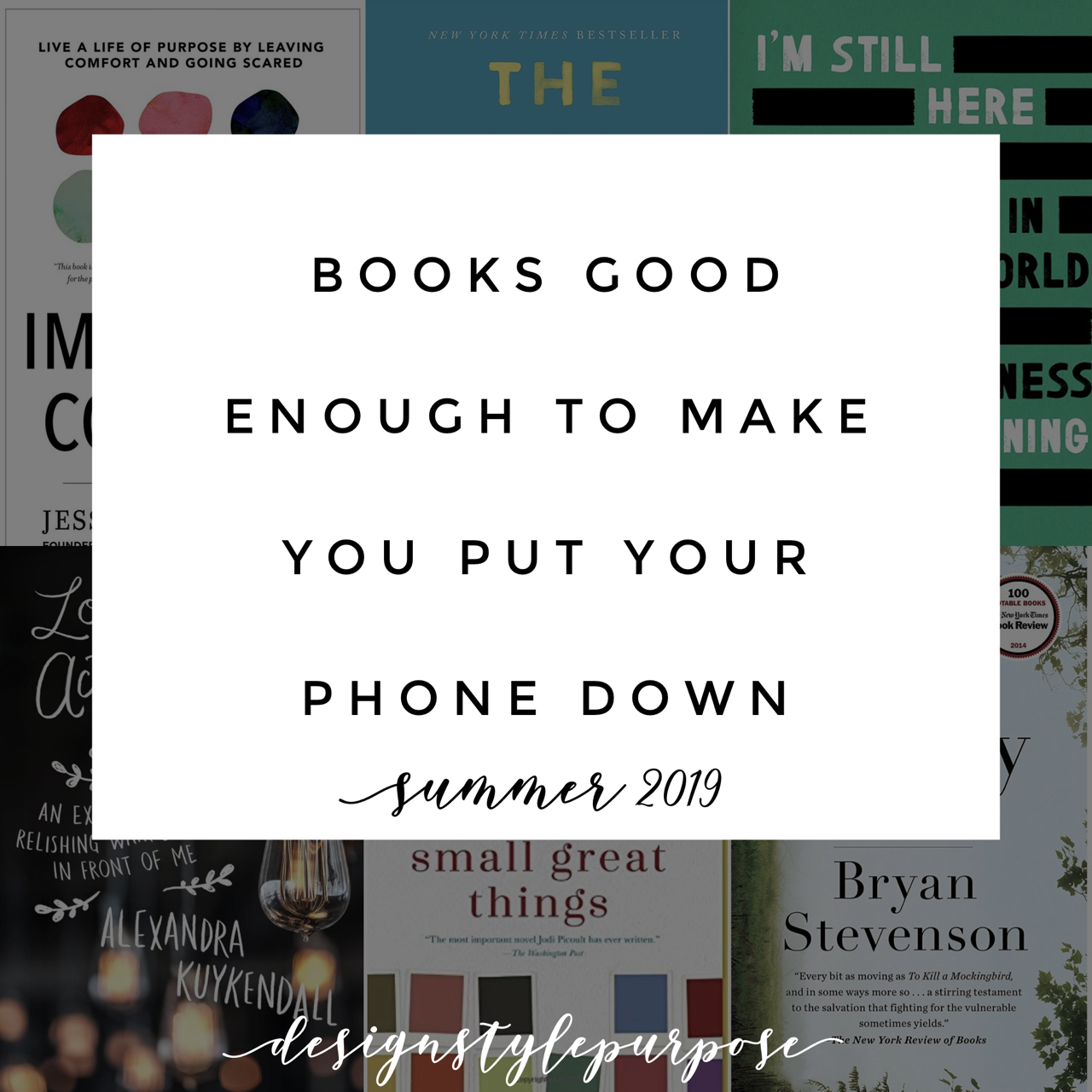 Books Good Enough to Make You Put Your Phone Down
