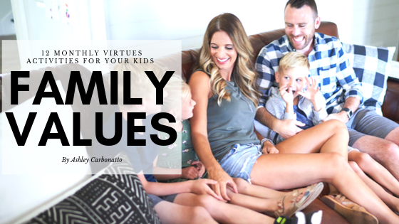 Teach kids values and virtues