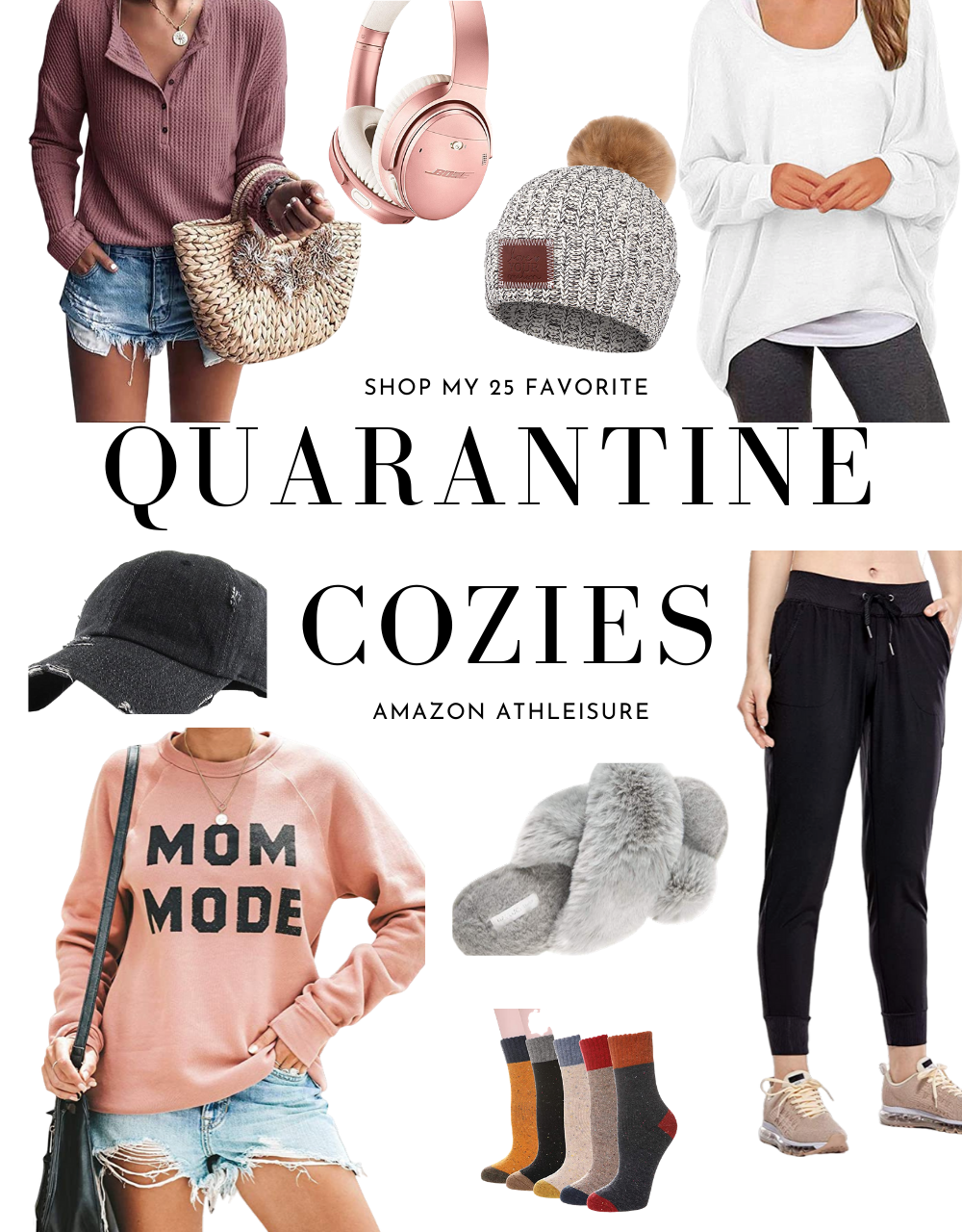Athleisure at Home Best Quarantine Clothes
