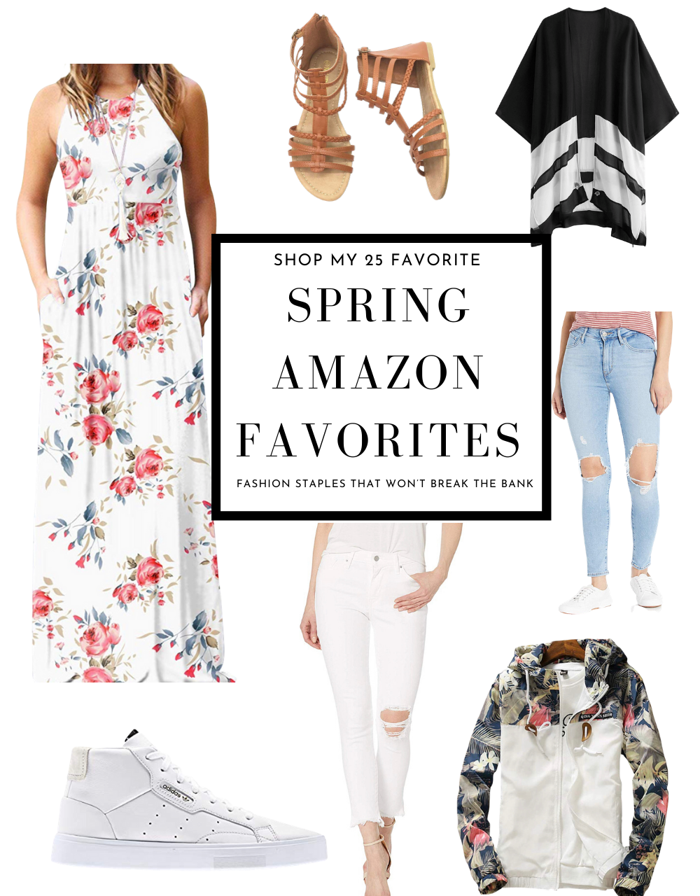 Shop My 25 Spring Wardrobe Favorites from Amazon