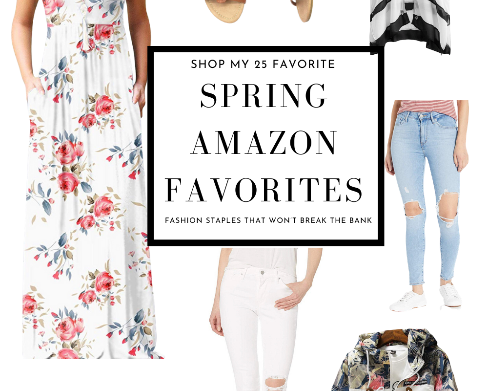 Spring Fashion Must Haves from Amazon