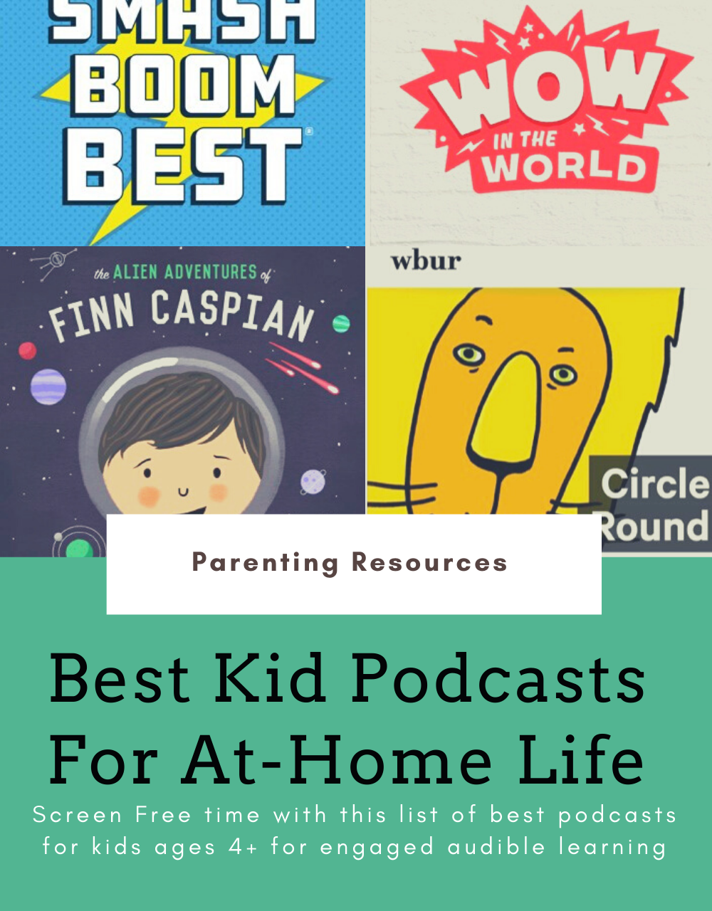 Best Kid Podcasts During a Pandemic