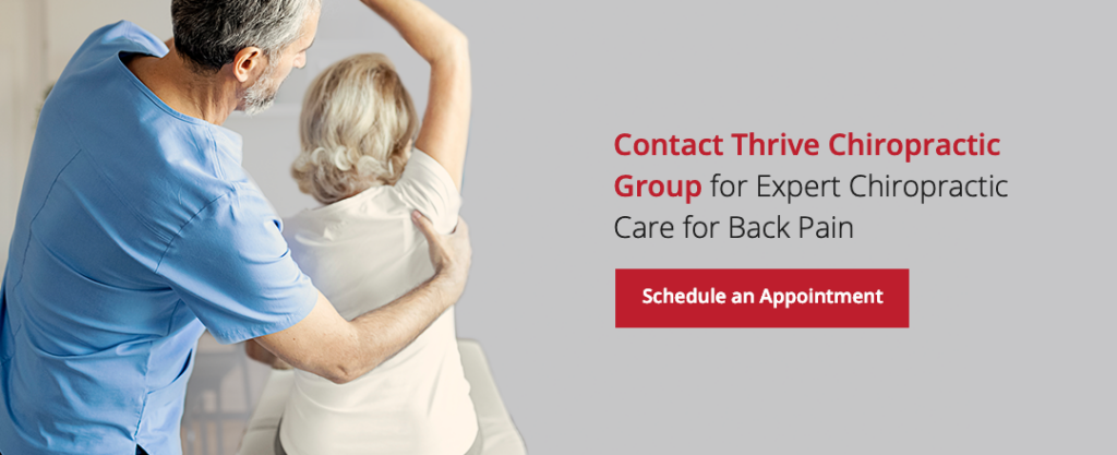 Contact Chiropractor For Back Pain Relief